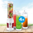 SM3354 Smoothie maker SHAKE AND GO Family pack 4 láhve